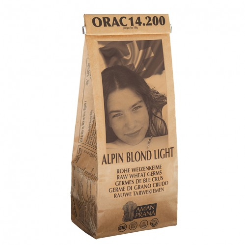 Germes de blé crus, Alpin blond light, 400 gr.