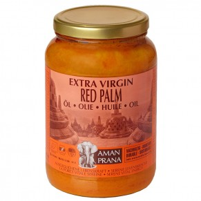 Red palm oil, Bio, 1.6lt, Amanprana