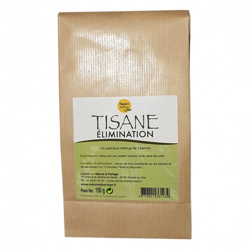 Tisane éliminations 150 gr.