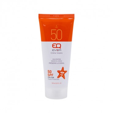 Sunscreen Natural, Ecocert,  SPF50, 50ml, EQ Love