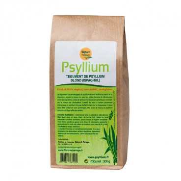 Psyllium naturel blond 300 gr.