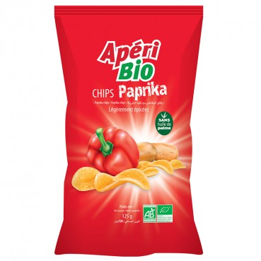 Chips Nature 125 g, Bio, Apéri Bio