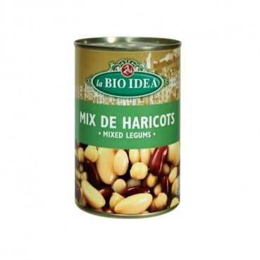 Mix de Haricots 400 g, Bio, La Bio Idea