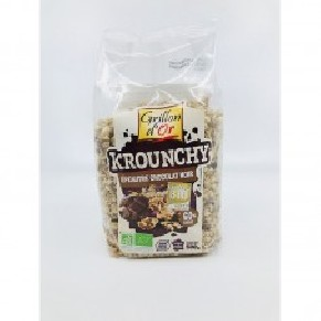 Organic mixture of crunchy cereals, Bio, Grillon d'Or