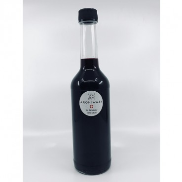 Jus d'aronia pur - 0.5 litres