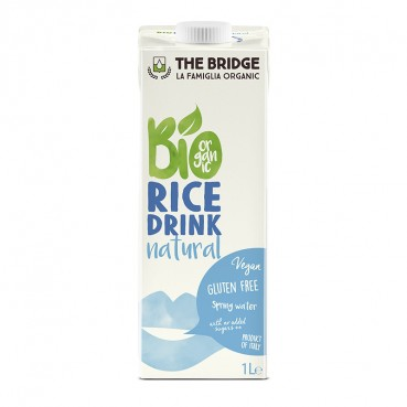 Boisson de riz drink nature 1 l, Bio, The Bridge