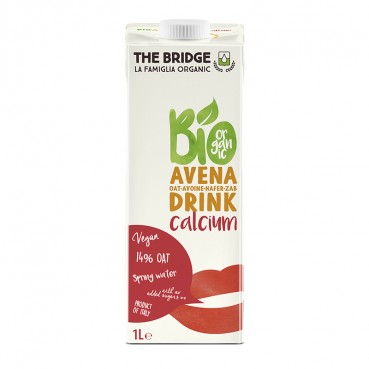 Boisson d'Avoine Calcium 1 l., Bio, The Bridge