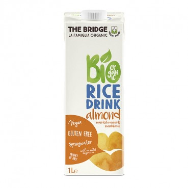 Boisson de Riz Amandes 1 l., Bio, The Bridge