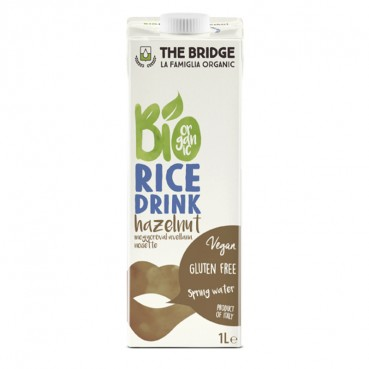 Boisson de Riz Noisette 1 l., Bio, The Bridge