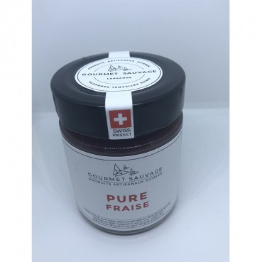Confiture Pure Fraise, Gourmet Sauvage